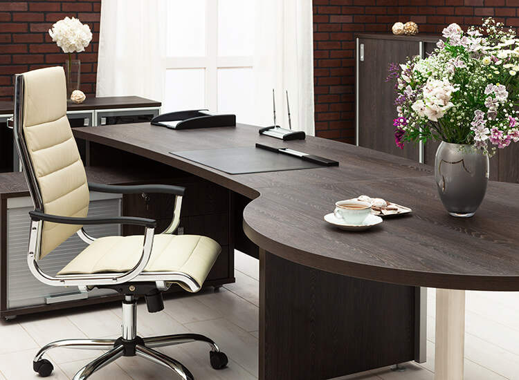 Office Desks Have Been Specifically Selected for Elegance